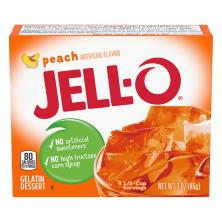 Jell O Gelatin Dessert, Peach