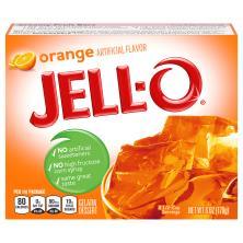 Jell O Gelatin Dessert, Orange