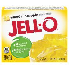 Jell O Gelatin Dessert, Island Pineapple
