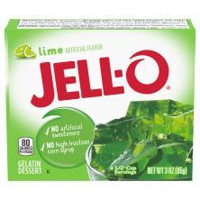 Jell O Gelatin Dessert, Lime