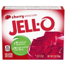 Jell O Gelatin Dessert, Cherry
