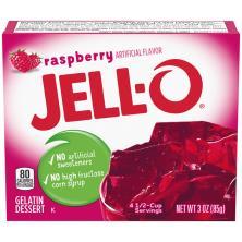 Jell O Gelatin Dessert, Raspberry