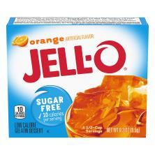 Jell O Gelatin Dessert, Low Calorie, Orange