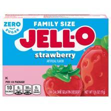 Jell O Gelatin Dessert, Low Calorie, Sugar Free, Strawberry