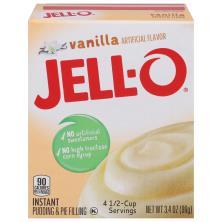 Jell O Pudding & Pie Filling, Instant, Vanilla