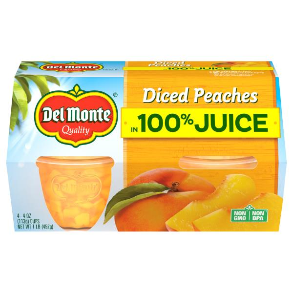 Del Monte Peaches, Diced