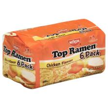 Nissin Top Ramen Soup, Ramen Noodle, Chicken Flavor