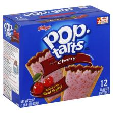 Pop Tarts Toaster Pastries, Frosted, Cherry