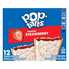 Pop Tarts Toaster Pastries Frosted Strawberry