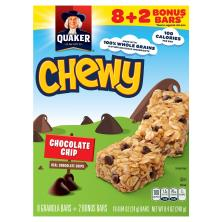 Quaker Chewy Granola Bars, Chocolate Chips
