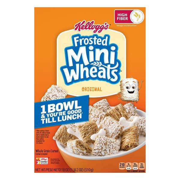 Mini Wheats Cereal, Original : Publix.com