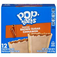 Pop Tarts Toaster Pastries, Frosted Brown Sugar Cinnamon