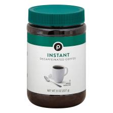 Publix Coffee, Instant, Decaffeinated