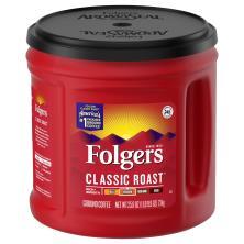 Folgers Coffee, Ground, Medium, Classic Roast
