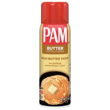 Pam Cooking Spray, No-Stick, Butter Flavor