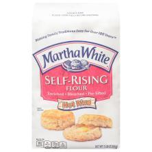 Martha White Self-Rising Flour, with Hot Rize