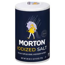 Morton Salt, Iodized