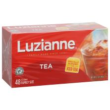 Luzianne Iced Tea, Bags, Family Size