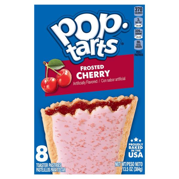 Pop Tarts Toaster Pastries, Frosted Cherry
