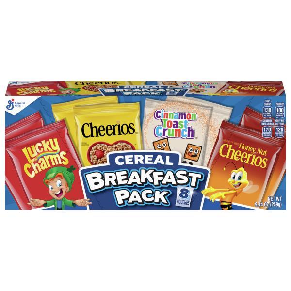 General Mills Cereal, Breakfast Pack : Publix.com