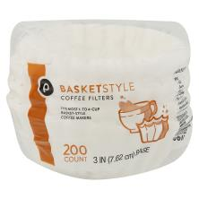 Publix Coffee Filters, Basket-Style, 1-4 Cup