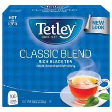Tetley Black Tea, Classic, Bags