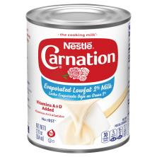 Carnation Milk, Lowfat 2%, Evaporated