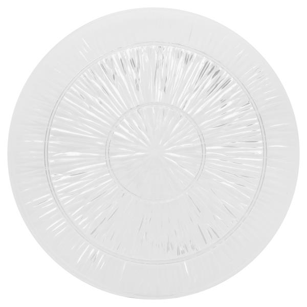 Novelty Crystal Platter, Clear