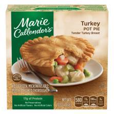 Marie Callenders Pot Pie, Turkey