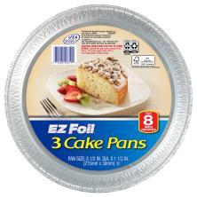 EZ Foil Cake Pans, 8 Inch