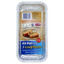 EZ Foil Loaf Pans, 8 x 4