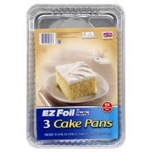 EZ Foil Cake Pans
