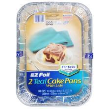 EZ Foil Cake Pans, 13 x 9