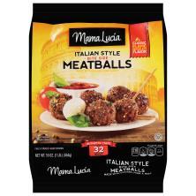 Mama Lucia Meatballs, Italian-Style, Mini