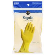 Publix Gloves, Latex, Regular, Medium