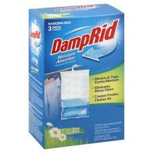 DampRid Moisture Absorber, Hanging, Fresh Scent, 3 Pack