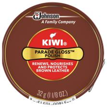 Kiwi Parade Gloss Polish, Premium, Brown