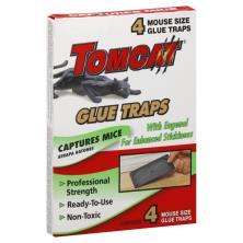 Tomcat Glue Traps, Mouse Size