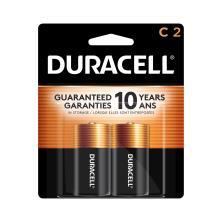 Duracell Coppertop Batteries, Alkaline, C