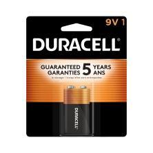Duracell Coppertop Battery, Alkaline, 9V