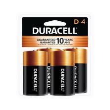 Duracell Coppertop Batteries, Alkaline, D