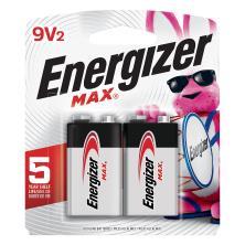Energizer Max + Power Seal Batteries, Alkaline, 9V