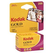 Kodak Gold Film, for Color Prints, 35 mm, 24 Exposures, ISO 200