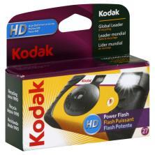 Kodak Single Use Camera, Power Flash, HD, 27 Exp