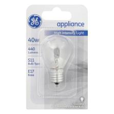GE Light Bulb, Appliance (Microwave Oven), 40 Watts