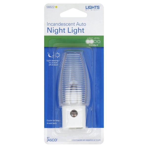 GE Lights by Night Night Light, Incandescent Auto, 4 Watts