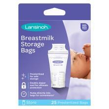 Lansinoh Breastmilk Storage Bags, Pre-Sterilized