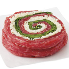 GreenWise Flank Steak, Stuffed with Mozzarella Cheese Raised Without Antibiotics
