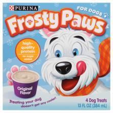 Frosty Paws Frozen Treats, Original Flavor