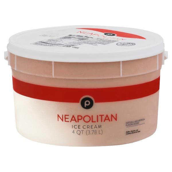 Publix Ice Cream, Neopolitan